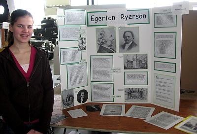 Egerton Ryerson project
