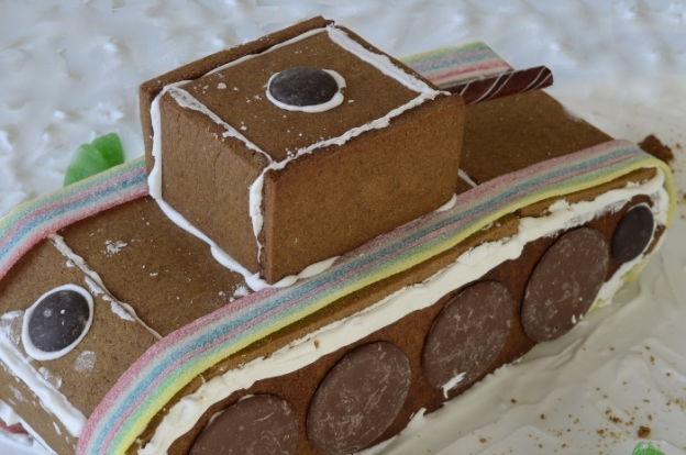 GingerBread Tank - Back