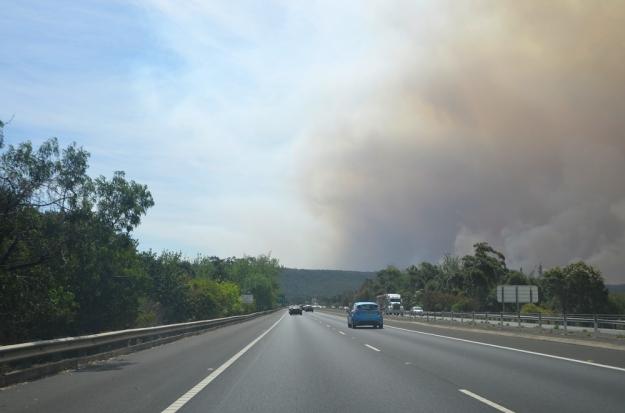 004bushfire drive home