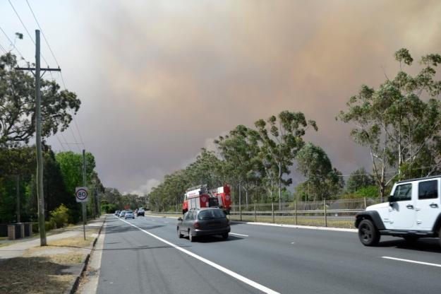 012bushfire drive home