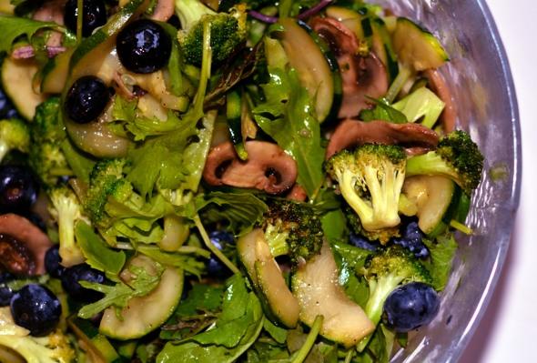 CSA salad greens Heather Telford
